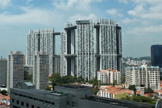 """Thăm dự án nhà ở xã hội """"hoành tráng"""" của Singapore"""