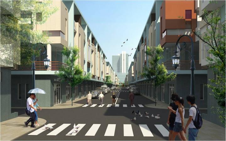 Dự án phố Thương Mại Phước Lộc Thọ