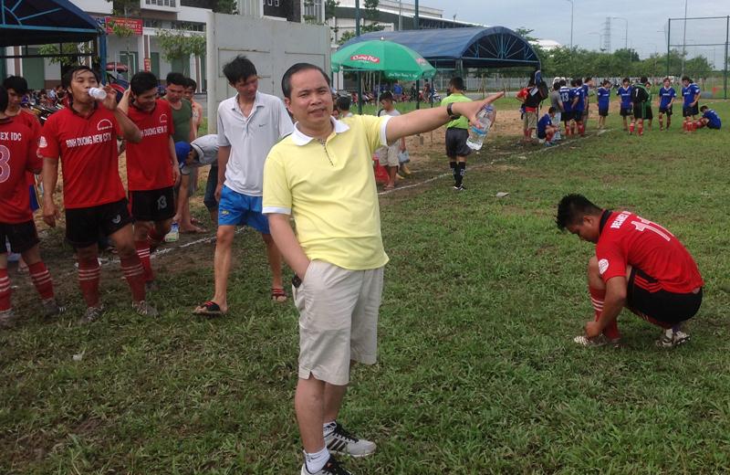 Đội bóng Hòa Phú Lâm Thành Phát tích cực tập luyện chuẩn bị cho giải đấu mới