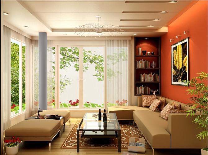 3 cách mở rộng không gian cho phòng khách